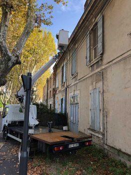 Nettoyage de gouttières à Saint Martin de Crau