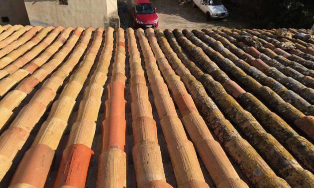 Décapage de toiture à Lançon de Provence