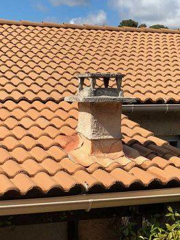 Enlèvement d'une cheminée à Salon de Provence