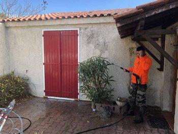 Ravalement et peinture façade à Coudoux