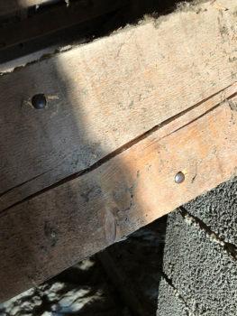 Traitement charpente toiture